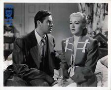 John Hodiak Lana Turner Marriage is a Private affair VINTAGE Photo