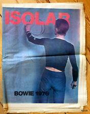 David Bowie 1976 Isolar Tour Programme