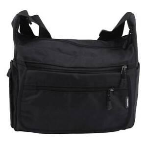 Simple Messenger Bag Shoulder Bag Casual Waterproof Black Bag Shapping Men's JH