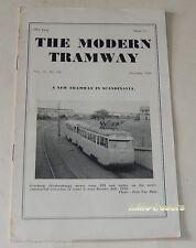 THE MODERN TRAMWAY N° 226 de 1956 : A new TRAMWAY in SCANDINAVIA - En ANGLAIS