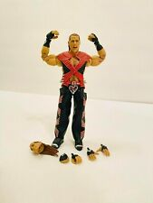 WWE Mattel Ultimate Edition Shawn Michaels Figure Displayed Only & Complete!