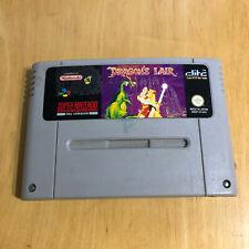 Super Nintendo SNES Game - Dragons Lair