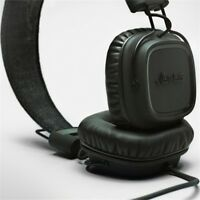 MARSHALL MAJOR 2 (pitch black) cuffie headphones NEW VERSION x iPhone iPod NEW