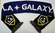 Los Angeles Galaxy Scarf Continental Tires Promo Soccer MLS