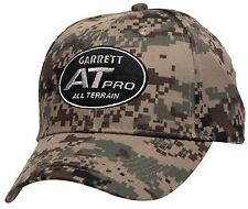 Garrett Metal Detector AT PRO ATpro All Digital Army Field Camo Baseball Cap Hat