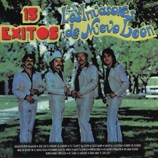 Los Invasores de Nuevo Leon 15 Exitos CD Nuevo No Sellado Edicion 1995