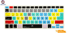Adobe Premiere Pro Shortcut Keyboard Silicone Cover for apple mac keyboards EU