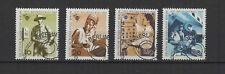 1969 Allemagne Berlin personnel des postes 4 timbres oblitérés /T2210