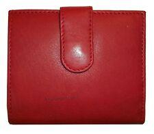 Women's Bill fold Wallet, Ladies Red wallet Coin purse change case card slots BN