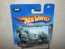 HOTWHEELS 1:64 2005 N°080 REBEL RIDES 5/5 FRIGHT BIKE Moto