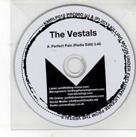 (DV82) The Vestals, Perfect Pain - 2013 DJ CD
