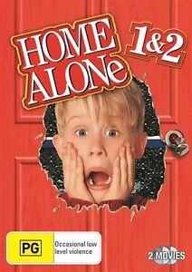 HOME ALONE 1 & 2 : 2 DVD SET - FREE POST