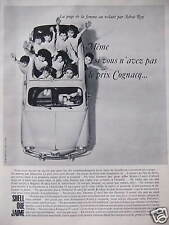 Shell oil advertising I love even if you have not the price cognacq