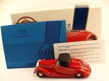 Dinky Matchbox  DY-S 17 1939 Triumph Dolomite Special Edition en boite 1/43