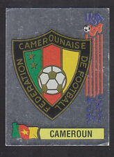 Panini - USA 94 World Cup - # 134 Cameroun Foil Badge (Black Back)