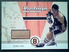 BOBBY ORR  AUTHENTIC PIECE OF A VINTAGE GAME-USED HOCKEY STICK  SP