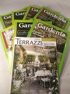 Lotto 7 Rivista GARDENIA + 1 TERRAZZI E BALCONI (numeri in descrizione)