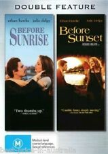 Before SUNRISE / Before SUNSET DVD 2-MOVIES TOP 250 BEST PICTURE BRAND NEW R4