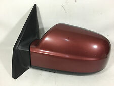 2005-2009 Hyundai Tucson Driver Left Side Mirror Power red