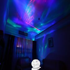 TRIPPY PSYCHEDELIC LAMP LIGHT AURORA BOREALIS PROJECTOR DECORATIVE RELAXING NEW