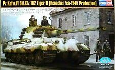 Hobbyboss 1:35 Pz.Kpfw.VI Sd.Kfz.182 Tiger II (Henschel Feb-1945) Tank Model Kit