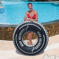 Giant 119CM High Velocity Sports Swim Ring Swimming Pool Tube with Grab Handles