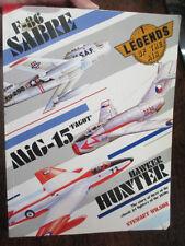 Korean War Classic Aircraft JETS OF 1950 s F-86 SABRE  MIG-15 Hawker Hunter