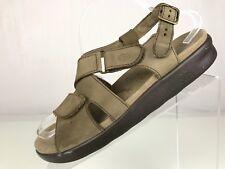 3ba90a79dc4 ... BRAVO Black Leather Comfort WALKING SANDAL ARCH SUPPORT USA.  139.99. SAS  Tripad Comfort Ovation Adjustable strap Leather USA Beige Womens 10W