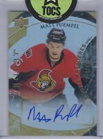 Matt Puempel 2015-16 Trilogy Rookie Premieres Level 1 Auto 399/499 Ottawa