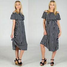 Baldari Damen Off Shoulder Maxikleid Strandkleid Sexy Sommerkleid  Freizeitkleid d982620b96