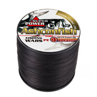 Super Power 100M-1000M PE Braided Fishing Line 6LB-100LB Multifilament PE Line
