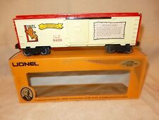 LIONEL 6-9429 JOSHUA LIONEL COWEN BOX CAR - THE EARLY YEARS- O GAUGE-A BEAUT!&B
