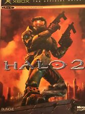 XBOX The Official Guide HALO 2 Covers All Multiplayer Modes