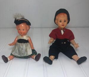 Vintage Celluloid Dolls Germany Edi Puppen