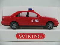 "Wiking 60006 Mercedes-Benz E-Klasse Lim. (1995) ""FEUERWEHR/ELW"" 1:87/H0 NEU/OVP"