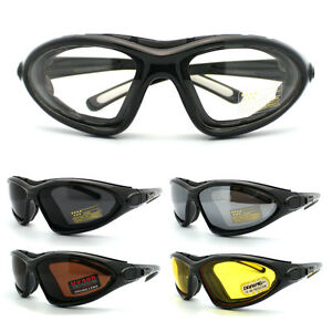 Choppers Cycling Biker Sunglasses Motorcycle Padded Semi Goggle (5 Colors)