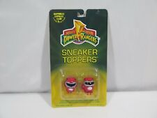 1994 Power Rangers Sneaker Toppers - RED