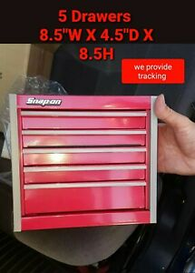 Snap-On Tools Box Miniature stationary Bottom Cabinet In RED NIB New !!!