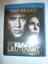 Bad Lieutenant: Port of Call New Orleans Blu-ray indie crime drama movie NEW!