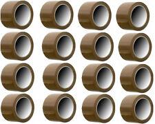 12 ROLLOS DE PRECINTO MARRON ADHESIVO 48mm x 66m,ACRILICO CINTA DE EMBALAR