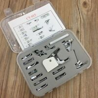 15Pcs Multifunction Sewing Machine Presser Feet Foot Set Brother Singer Janome