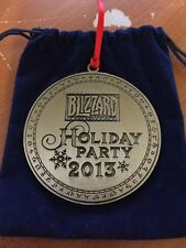 Blizzard Entertainment Employee Blizzcon 2013 Rare Christmas Holiday Ornament