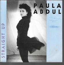 "45 TOURS / 7"" SINGLE--PAUL ABDUL--STRAIGHT UP / COLD HEART--1988"
