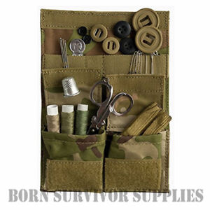 Web-tex SOLDIER 95 SEWING KIT MULTICAM CAMO - British Army MTP Camping Housewife