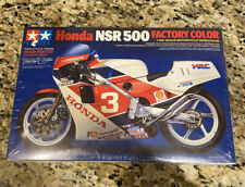 Tamiya 1/12 Scale Model Kit Motorcycle Series Honda Nsr500 Factory Color #14099