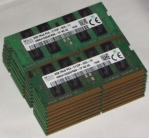 16gb laptop RAM kit 2 x 8gb PC4-2133 Dell Latitude 3379 3480 3580 5280 5480 5490