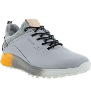 ECCO Mens S-Three Leather Gore-Tex Waterproof Golf Trainers Sneakers Shoes