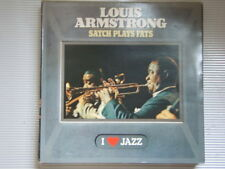 LOUIS ARMSTRONG Satch Plays Fats LP CBS 1983 exc