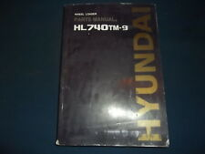 HYUNDAI HL740TM-9 WHEEL LOADER PARTS BOOK MANUAL