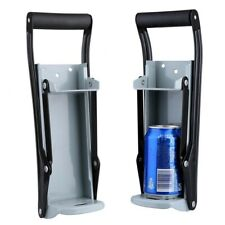 Can Crusher 16oz Aluminum Soda Beer Bottle Opener Wall Mounted Recycling Tool Us